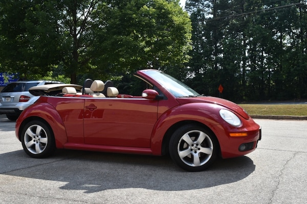 2006 Volkswagen Beetle Cabriolet Convertible 5sd Manual Transmission Exellent Clutch Automatic Top Low Miles Leather Heated Seats New