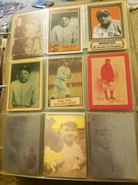 12 Babe Ruth cards on sale 48hrs Reading, 19604