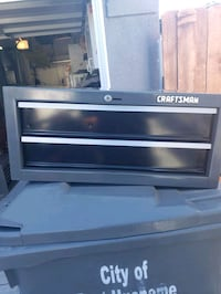 Craftsmen 2 drawer tool box