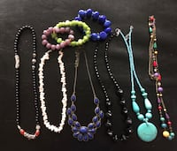 Assorted bead necklaces and bracelets  Mississauga, L5B 0G6