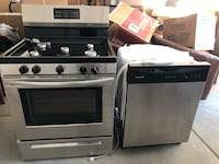 Frigidaire 30'' Gas Range and matching dishwasher Sacramento, 95819