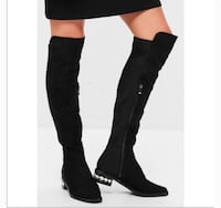 Catherine Malandrino knee thigh high boots size 8.5 Las Vegas, 89103
