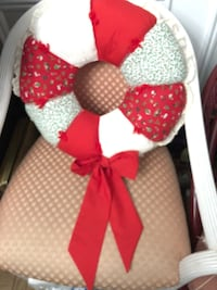 Handmade patchwork  quilted  wreath