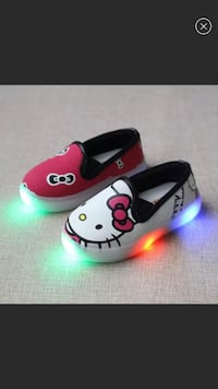 New Hello Kitty AB Light Up Sneakers  Memphis, 38016