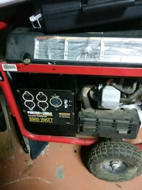 red and black portable generator Carencro, 70520