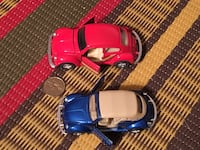 Two die cast VE Beetle 1/36 scale toy cars Toronto, M2M 2A3