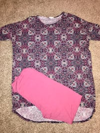 (3 pc) LuLaroe Irma's(2)& matching pair of leggings Mansfield, 44907