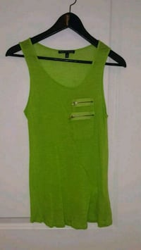 Beautiful green woman's sleeveless shirt Toronto