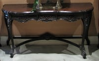 Solid Wood Entrance Table Whitby