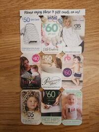 Baby Gift Cards & coupons Calgary, T3K 4M2