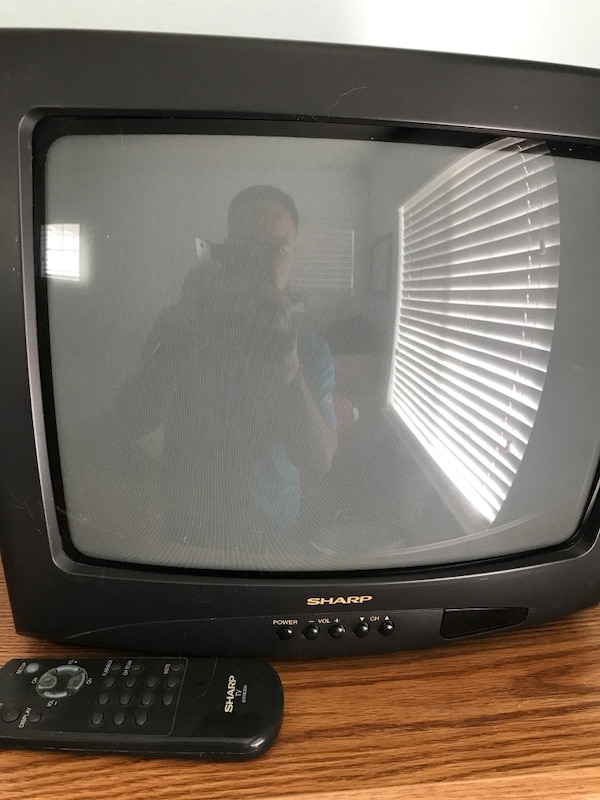 "667d23b0166 Sharp 14"" Color TV. HomeUsed Electronics in California Used Electronics in San  Jose ..."