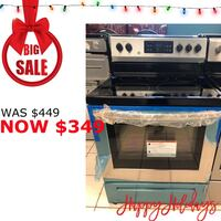 Brand New Frigidaire 5 Burner Electric Range (Scratch and Dent) Elkridge, 21075