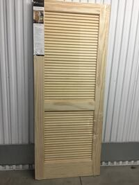 "32/80"" FULL LOUVER PINE DOOR SLAB Philadelphia, 19148"