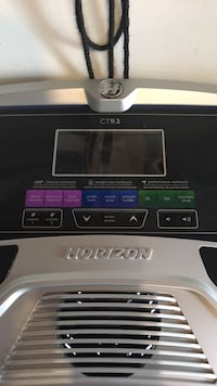 Horizon CT9.3 Treadmill Bolton, L7E 1J6
