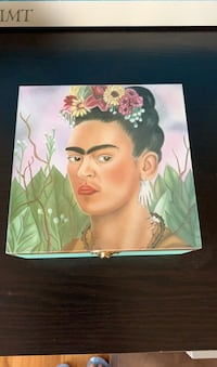 Frida Kalo wood box new