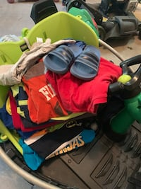 Kids size 4/5 clothes size 11 slides Morgantown, 26501