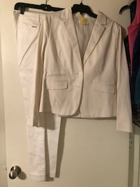 Newyork and Company pant suit - white  DeSoto, 75115