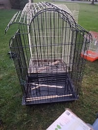 black metal folding dog crate Fairfax, 22033