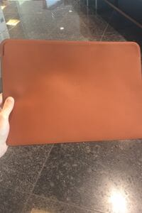 Unused Leather MacBook Pro Sleeve Sevilla, 41018