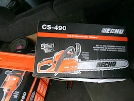 CS-490 Echo Gas powered chainsaw