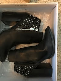Studded leather booties  Falls Church, 22042