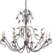 large indoor chandelier. Currey & Co. New Branford, 06405