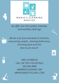 House cleaning Modesto