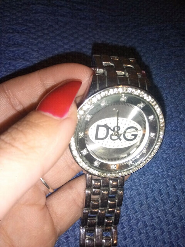 Orologio D&G color argento