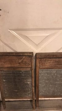 2 Antique Wash Boards Yardley, 19067