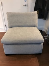 Grey down filled Bernhardt chair brand new can deliver Kleinburg, L0J 1C0