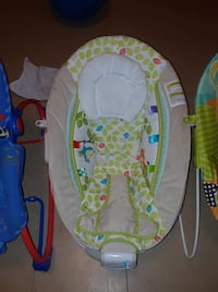 Baby's blue and green bouncer St. Louis, 63115