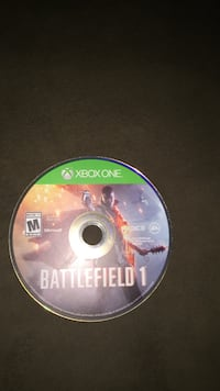 Xbox One Battlefield 1 game disc Vaughan, L4H 2R1