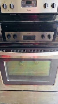 NEW!!WHIRLPOOL STAINLESS GLASS TOP STOVE $385.00-($700@Lowe's) Hampstead