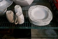 Tea or coffee set with bowls/plates Laval, H7X 3P2