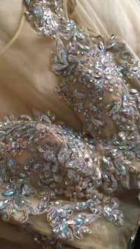 Jovani gold dress (prom dress)