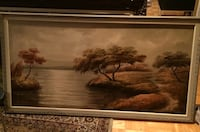 wooden framed painting 2x4 Laval, H7X 3P4
