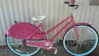 pink and white cruiser bike Phoenix, 85043