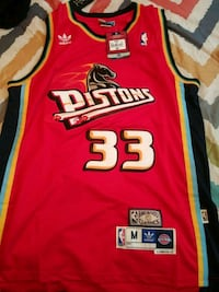 red yellow and black grant hill Detroit  33 jersey Roanoke, 24017