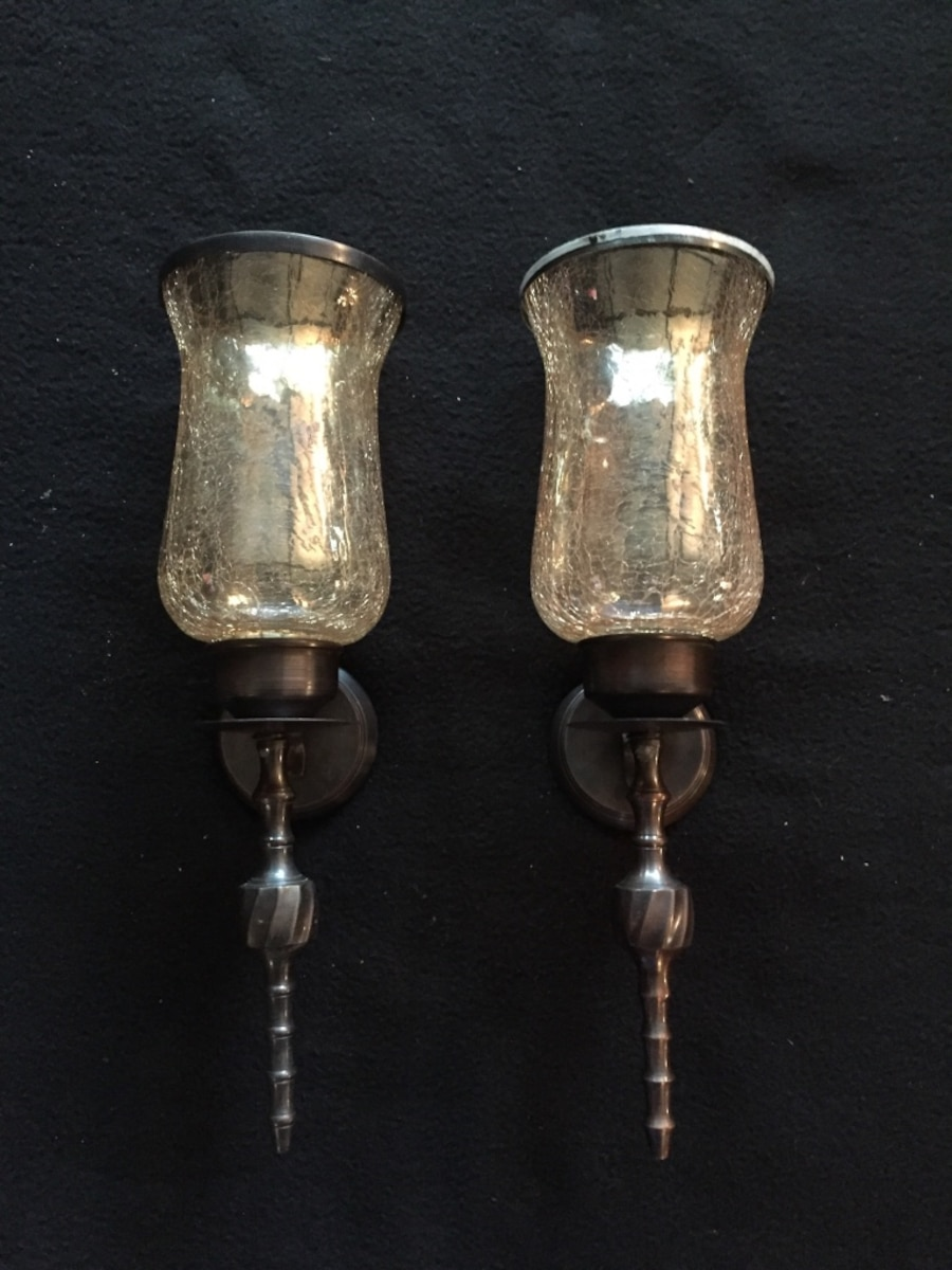 Used hanging candle holders 18 in shawnee for Used candle holders