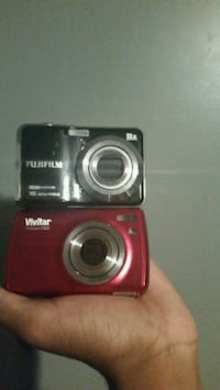 red Nikon Coolpix point-and-shoot camera Roselle, 07203