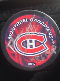 Autographed Ryan Walter Officially Licensed NHL Montreal Canadiens