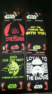 New Set of 4 Star Wars Can Coolers/Koozies  Toronto, M9V 5G8
