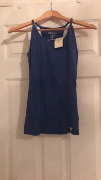 Blue top from Guess. New with tags. Size medium.  Ajax, L1T 5A1