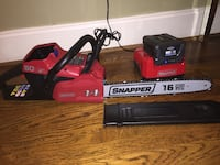 "16"" snapper chainsaw 60V ....New never used Anderson, 29621"