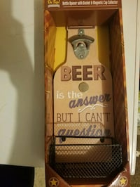 Beer opener wall decoration