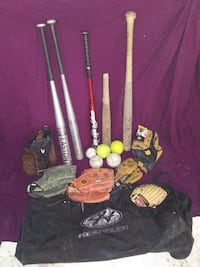 base ball bag full  Mission