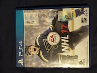 Nhl 17 ps4 mint condition with box and manual Oakville, L6K 1Z6
