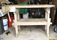ANTIQUE WOODWORKERS CARPENTERS BENCH in Pine Hill NJ Pine Hill