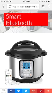 Instant Pot - Smart Bluetooth - 60 quart Toronto, M5R 1J8