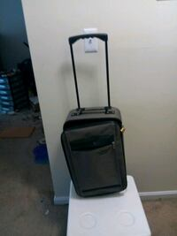 Grey small travel suitcase with handle Manchester, 03102
